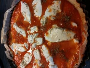 Pizza al cavolfiore