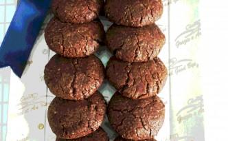 biscotto amaretto al cioccolato
