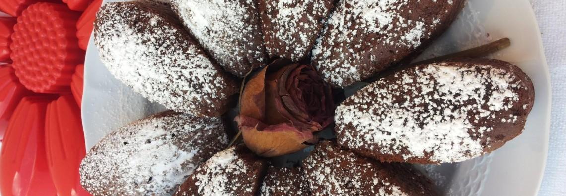 Torta fiore nocciole