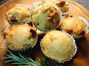 Muffins salati birra e speck