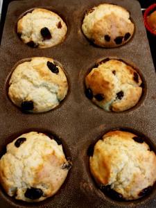 2014.09.28 - cranberry muffins ai frutti rossi