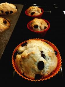 Muffins con bacche di Goji-Bimby