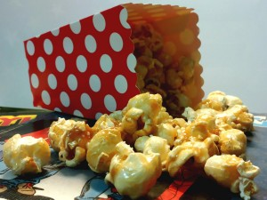 Butterscotch pop corn