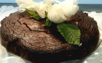 Black bean cake - torta di fagioli neri light- gluten free-low carb - senza lattosio