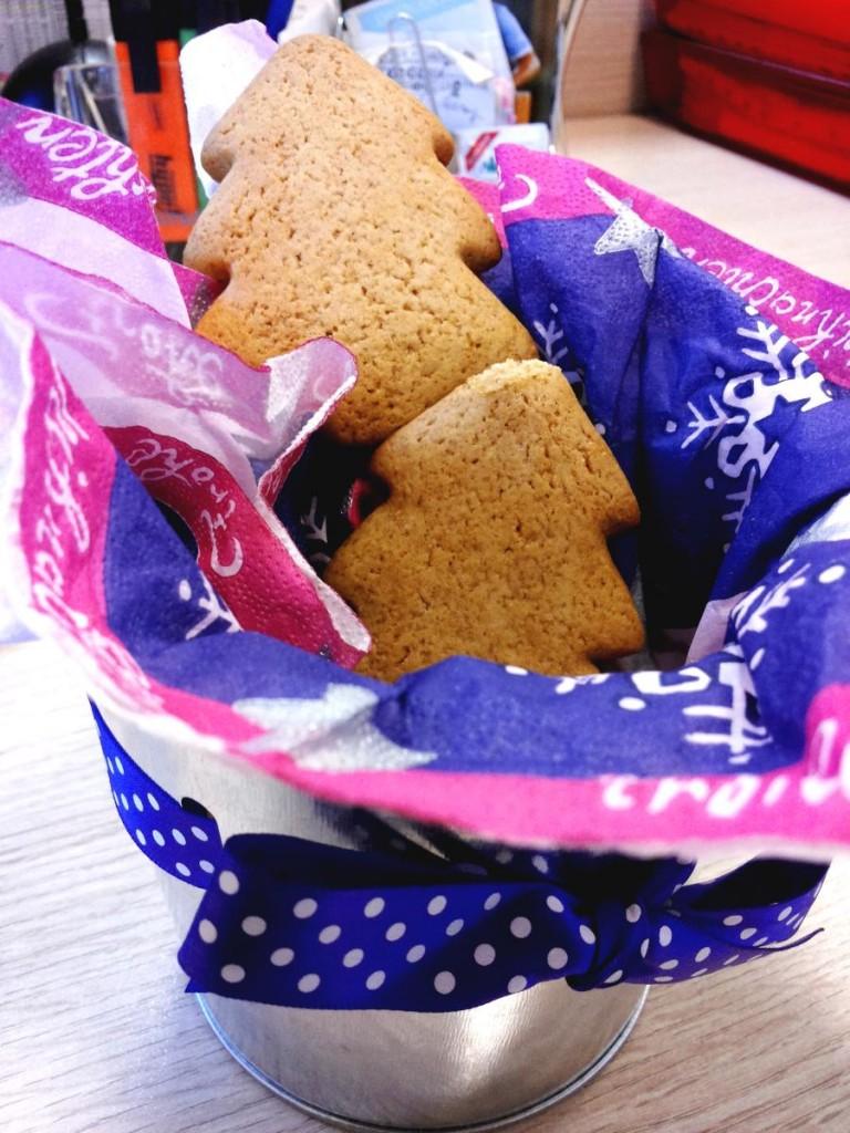 Biscotti alberelli natalizi di pan di zenzero - Gingerbread
