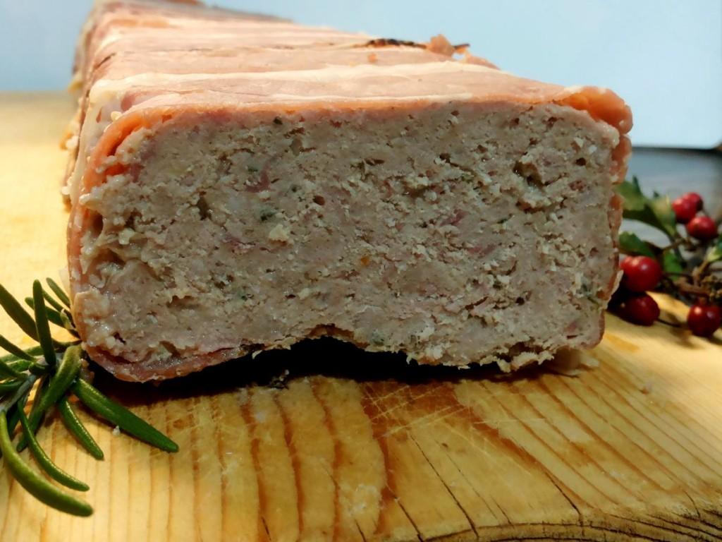 Terrina di carne rivestita di speck - ricetta rivisitata di Donna Hay