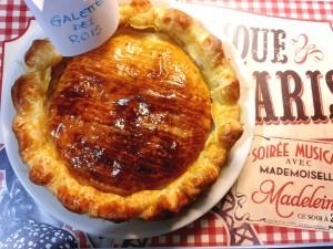Galette de rois - galetta a base di pasta sfoglia e crema alle mandorle