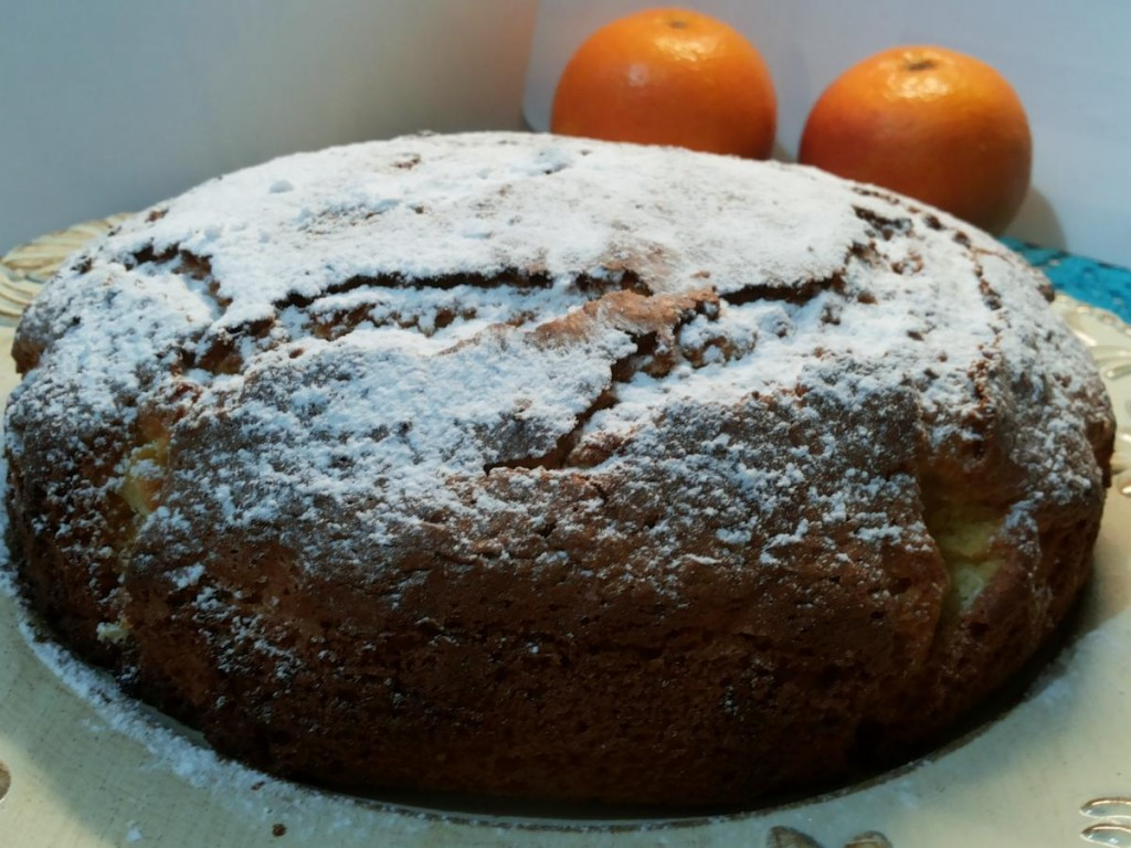 Pan d'arancio - la torta con l'arancia intera