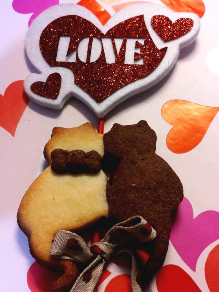 Biscotti bigusto - romantici gattini