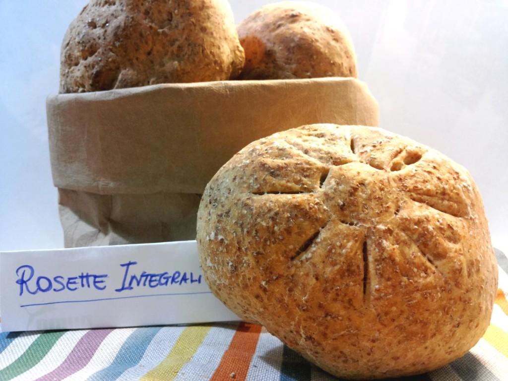 Rosette romane di pane integrale