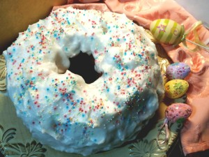 Ciaramicola dolce tipico umbrodi Pasqua