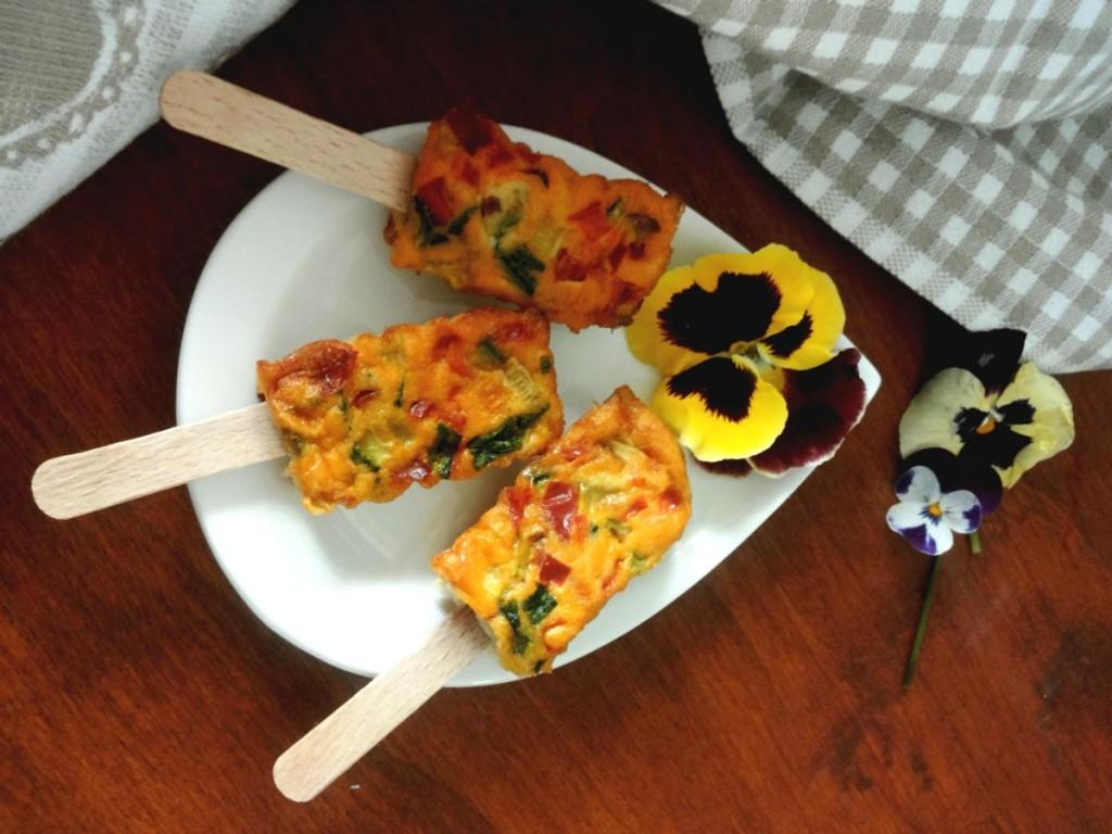 Frittatine con verdure primaverili