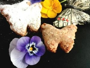 biscotti light con fragole e farina integrale