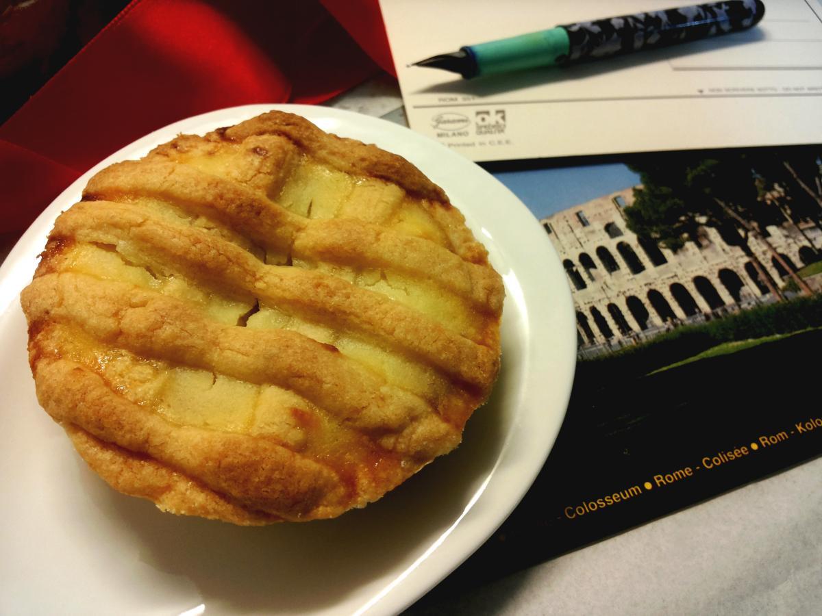 Crostata Di Visciole E Ricotta Della Tradizione Romana Cucina Serena