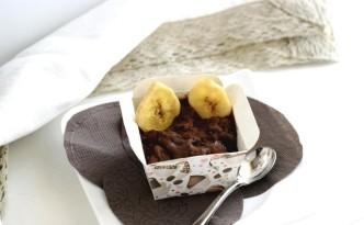 gelato light alla banana e cacao