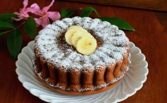 Torta morbida alla banana