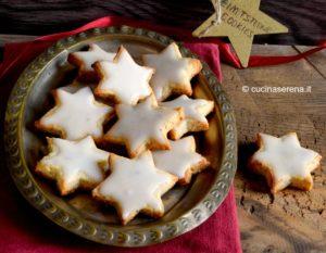 Stelle di cannella biscotti tipici natalizi