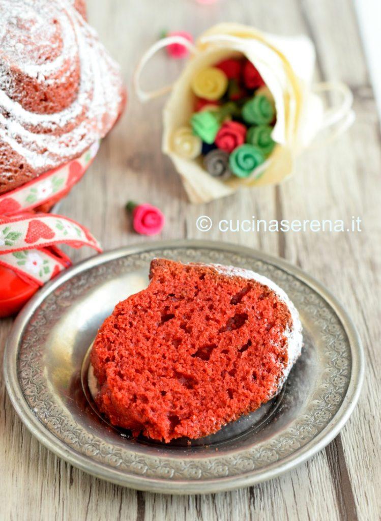 Red Velvet bund cake