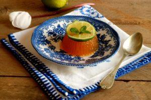 gelatina dolce al limone