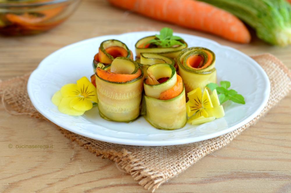 MENU' DI FERRAGOSTO - verdure in carpione