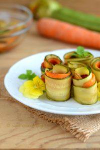 Carpione di zucchine e verdure