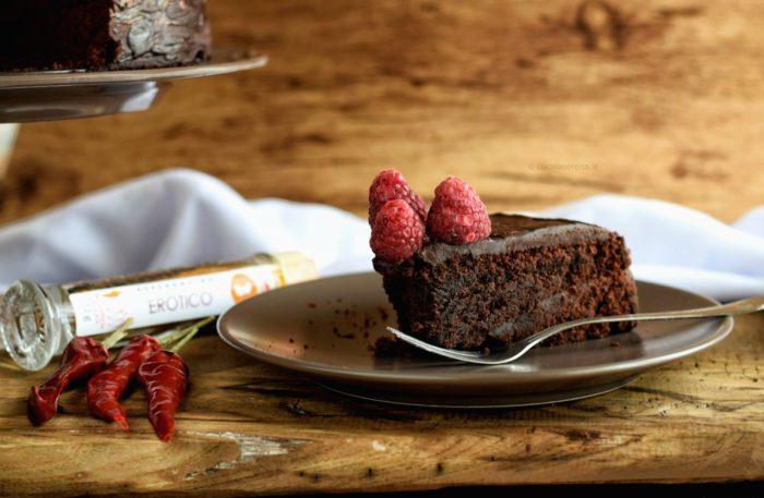 Torta vegan al cioccolato