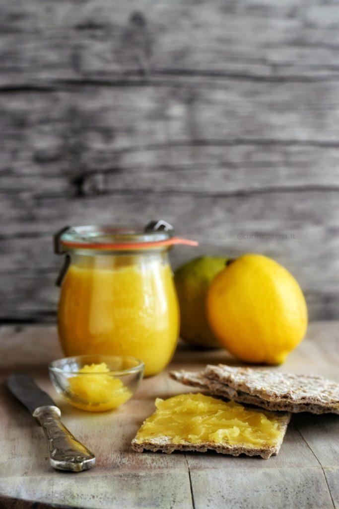 lemon curd al microonde
