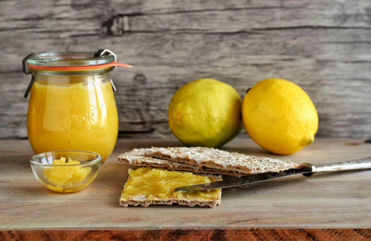 ricetta lemon curd