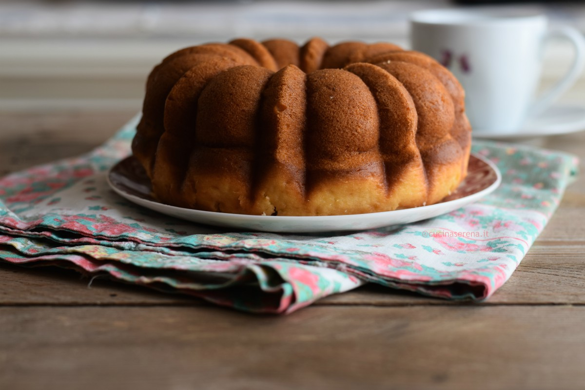 Bund cake senza burro
