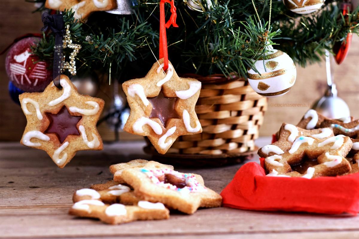 Biscotti Di Natale Effetto Vetro.Biscotti Di Vetro