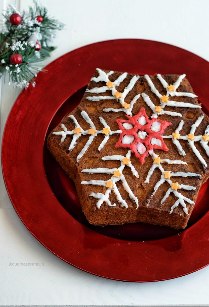 Torta Stella Di Natale.Stella Di Natale Agli Agrumi E Mandorle Dolci Tipici Di Natale