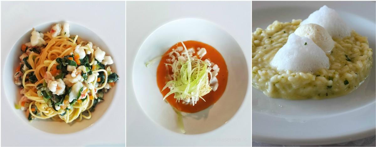 lezione di cucina chef Igles Corelli