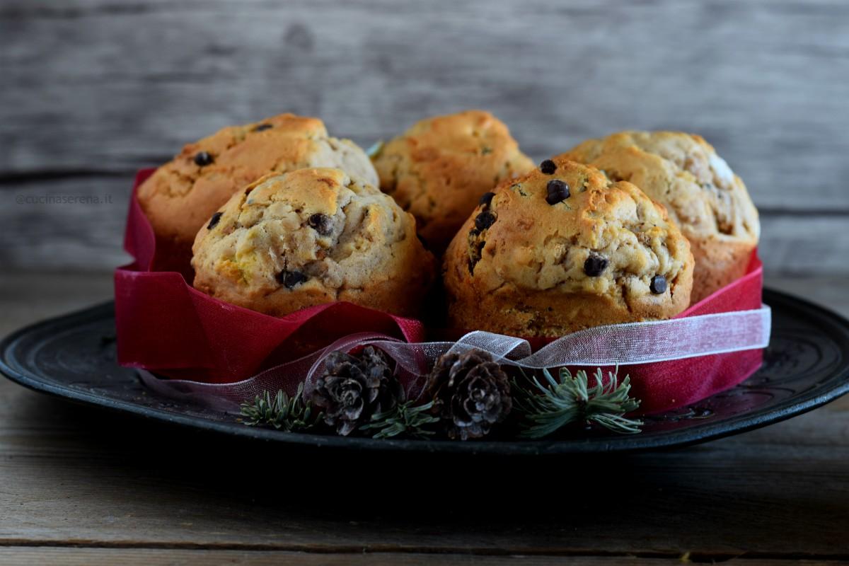 Muffin riciclo panettone e pandoro