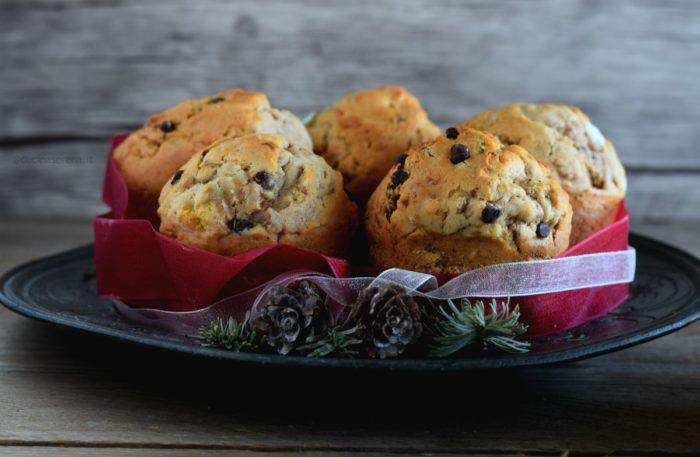 Muffin riciclo panettone o pandoro