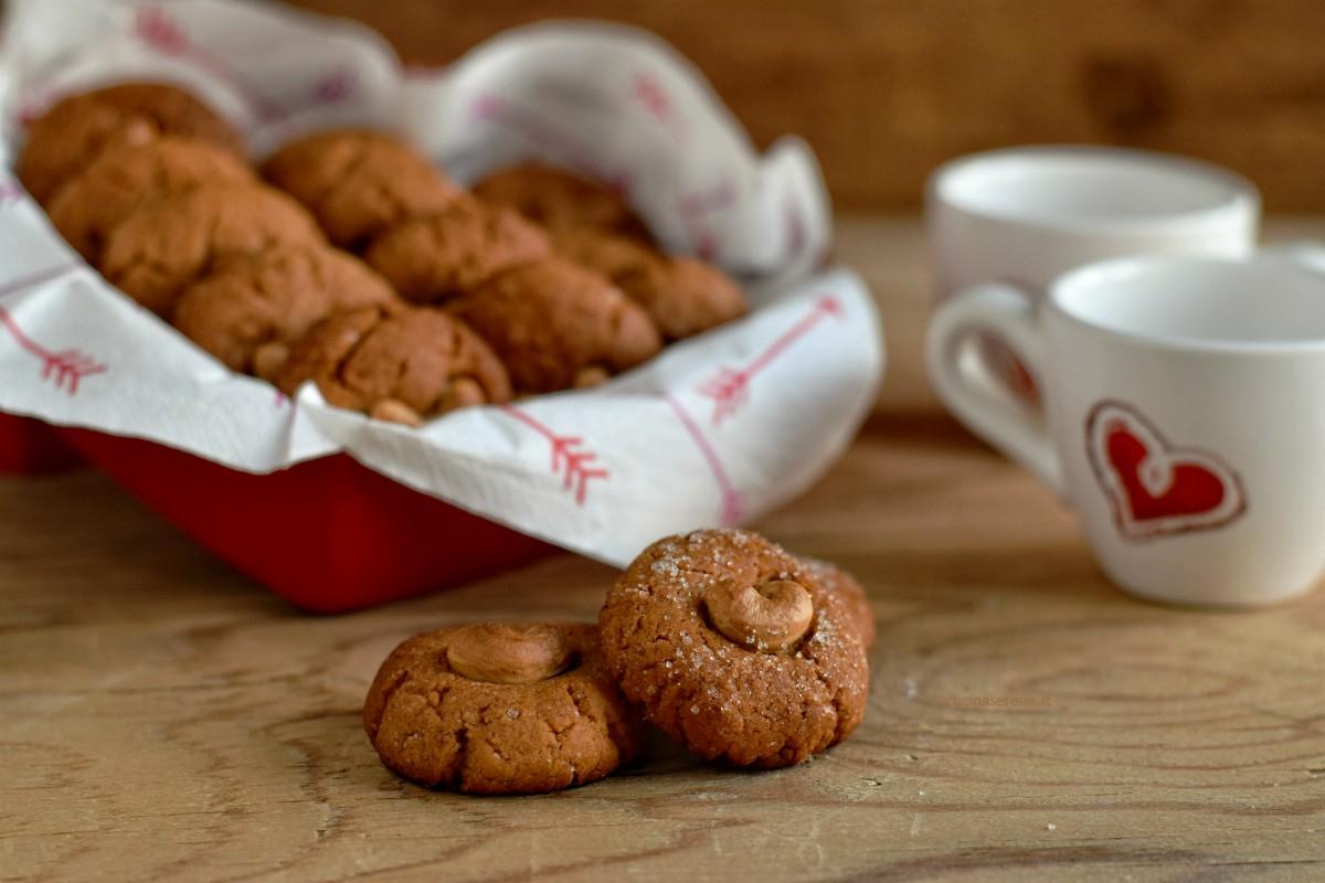 biscotto vegan con anacardi