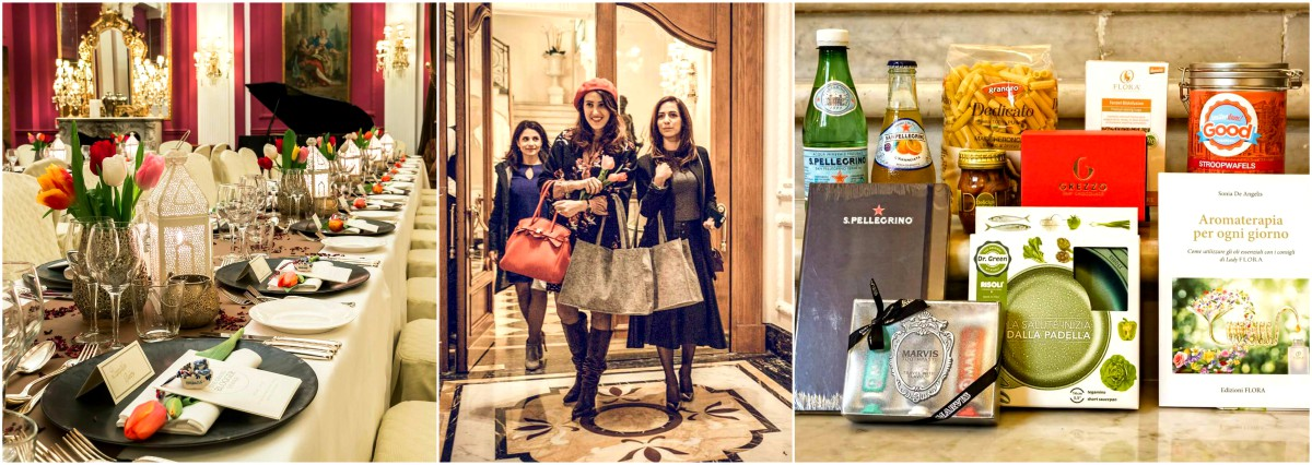 grand blogger dinner cena evento a Roma per food blogger lifestyle e influencers