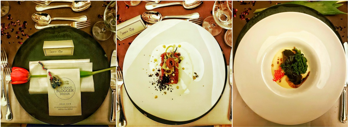 The grand blogger dinner Rome