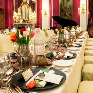 grand blogger dinner Rome