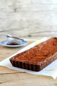 frolla al cacao farcita con ricotta