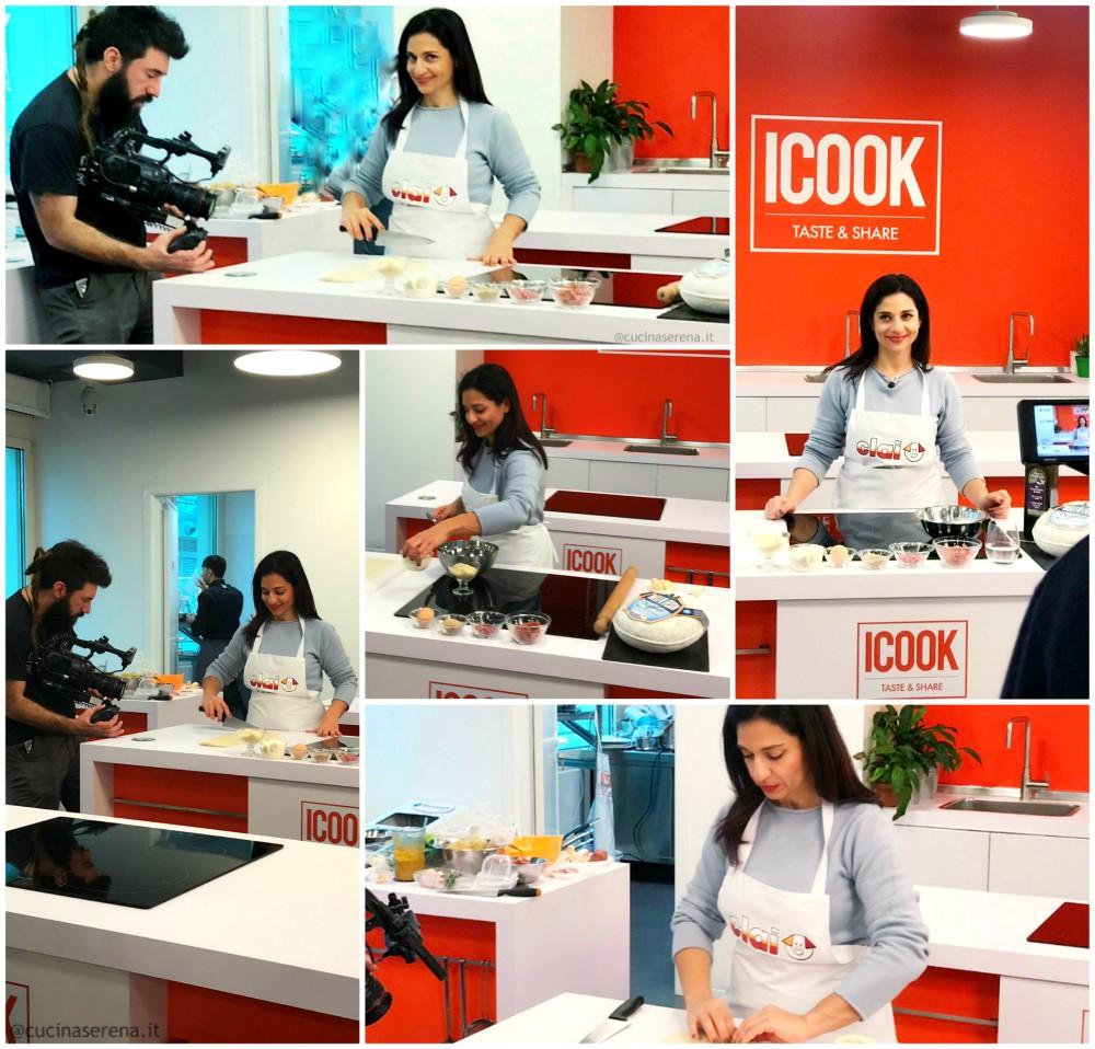 videoricetta Caramelle di pasta matta con saleme e ricotta - Cucina Serena - backstage