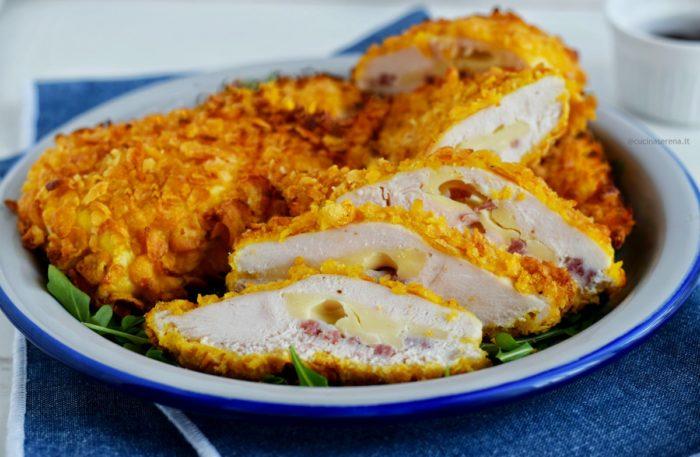 pollo panato con corn flakes