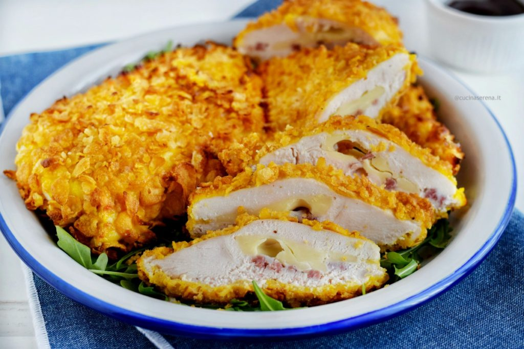 petto di pollo farcito con salumi e formaggio