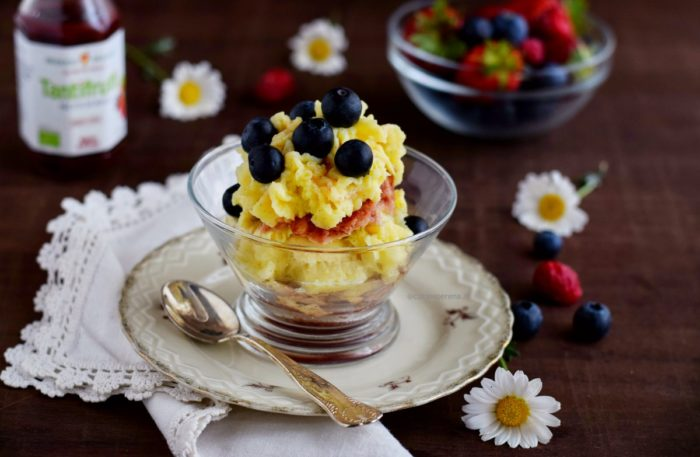 Microwave dessert recipe