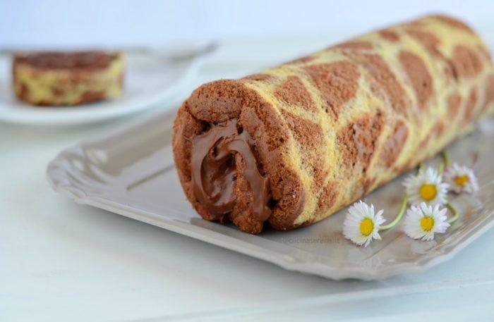giraffa roll cake