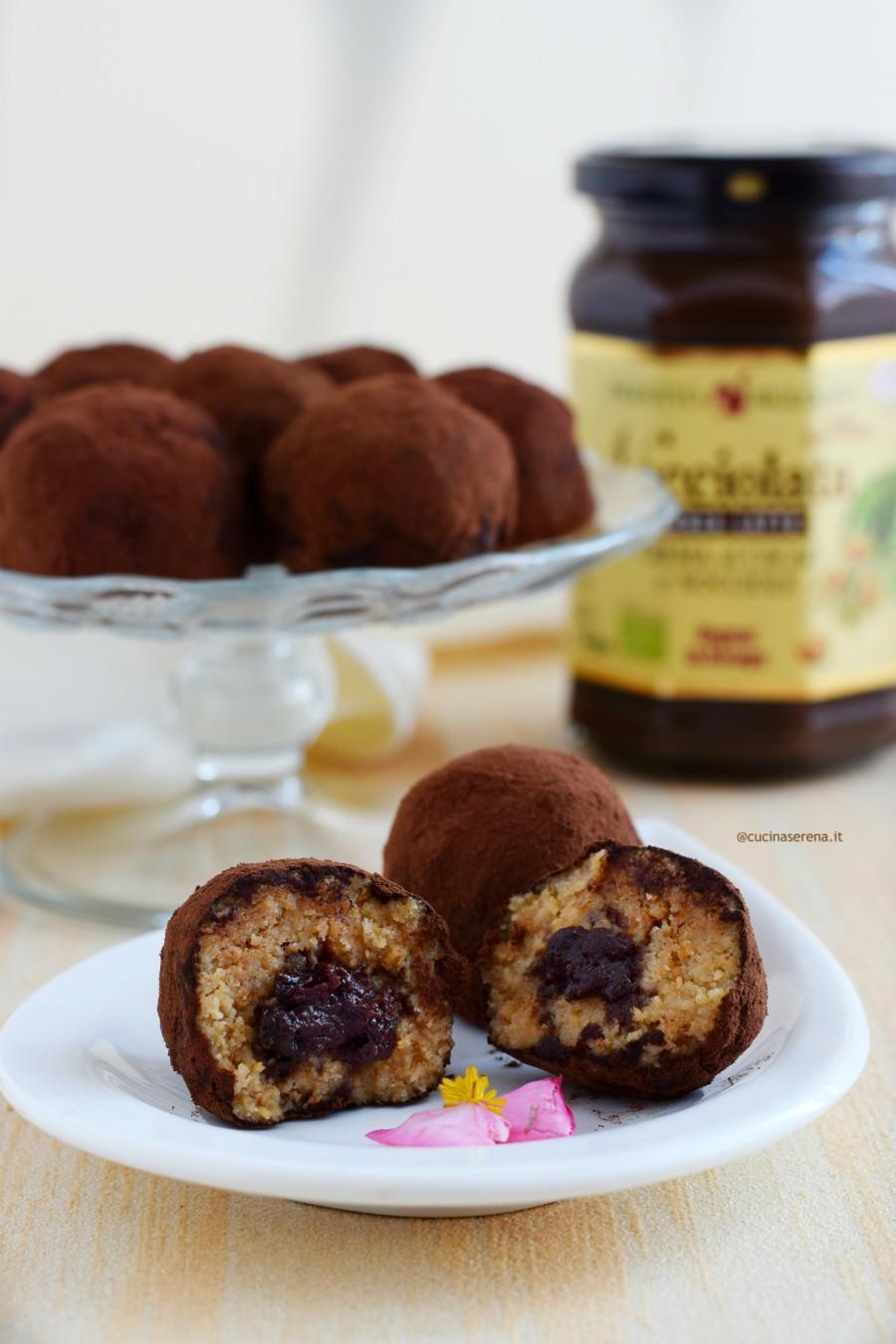 Tiramisù truffle recipe without eggs