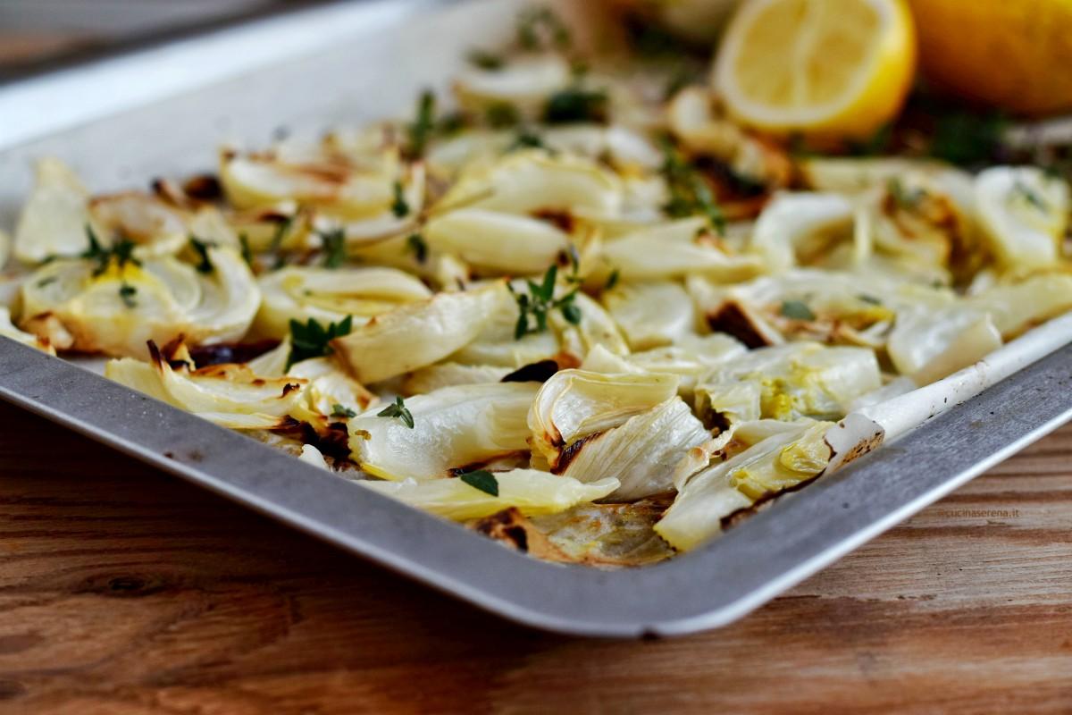 Finocchi al limone e timo fresco cotti al forno - ricetta di Csaba tratta da Around Florence