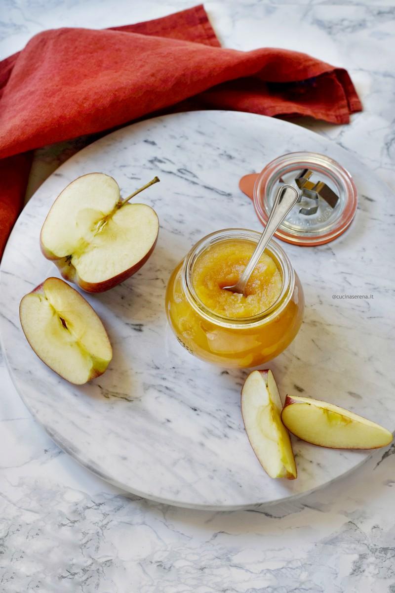 ricetta del burro di mele versione light con sciroppo di agave