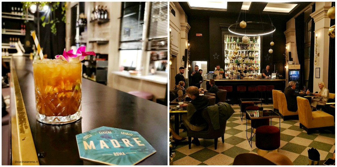 Madre Roma mixology e cocktail bar per aperitivo e dopocena a Roma