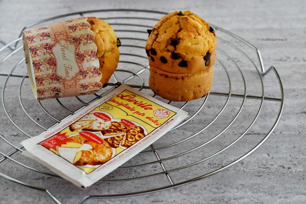 ricette con lieviti Ar.pa - American muffin Cucina Serena