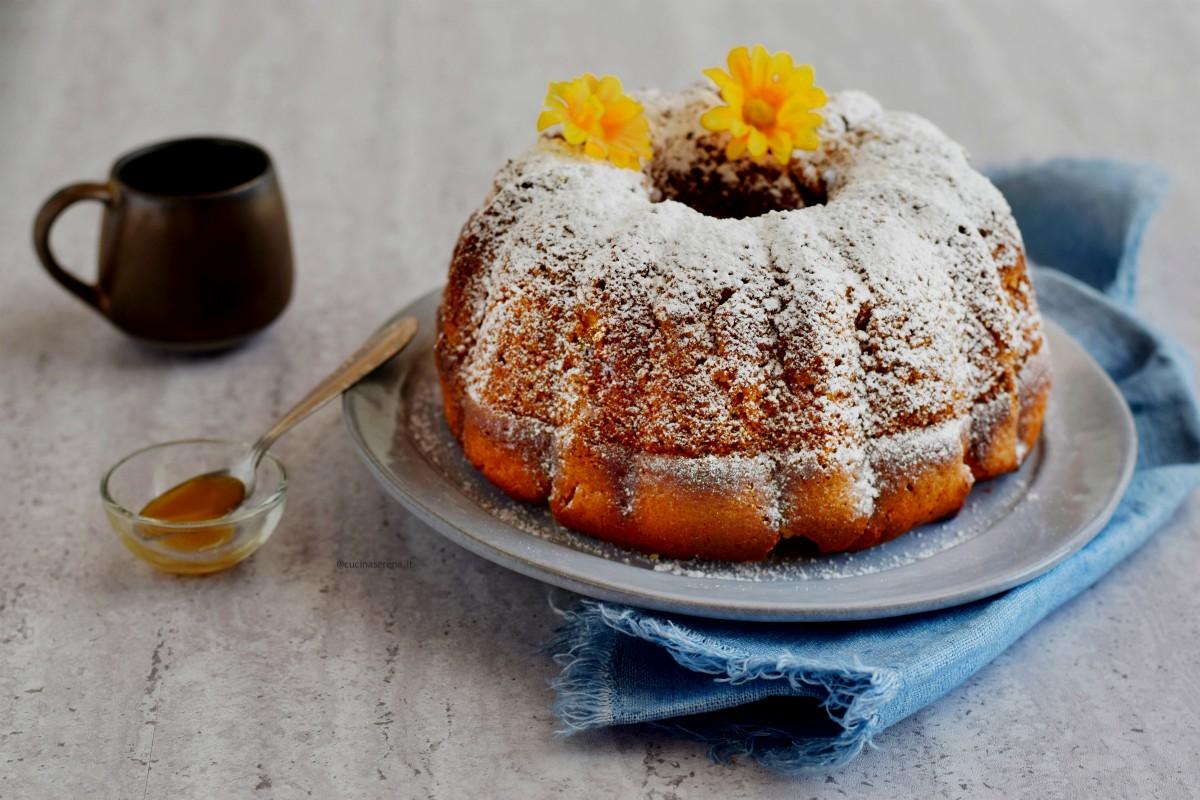 Milk and honey breakfast cake